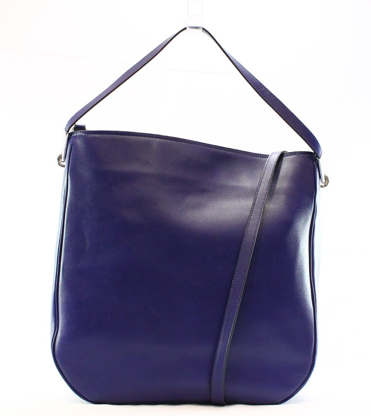 ... Marc Jacobs NEW Ligero Mineral Blue Leather Large Hobo Bag Purse 428