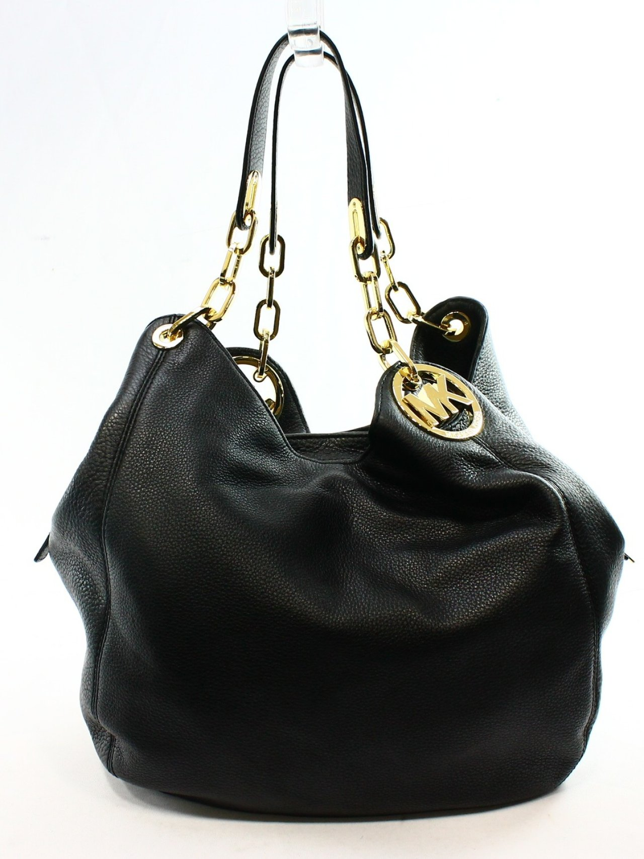 New Zealand Michael Kors Fulton Shoulder - Michael Kors Fulton Black Shoulder Bag