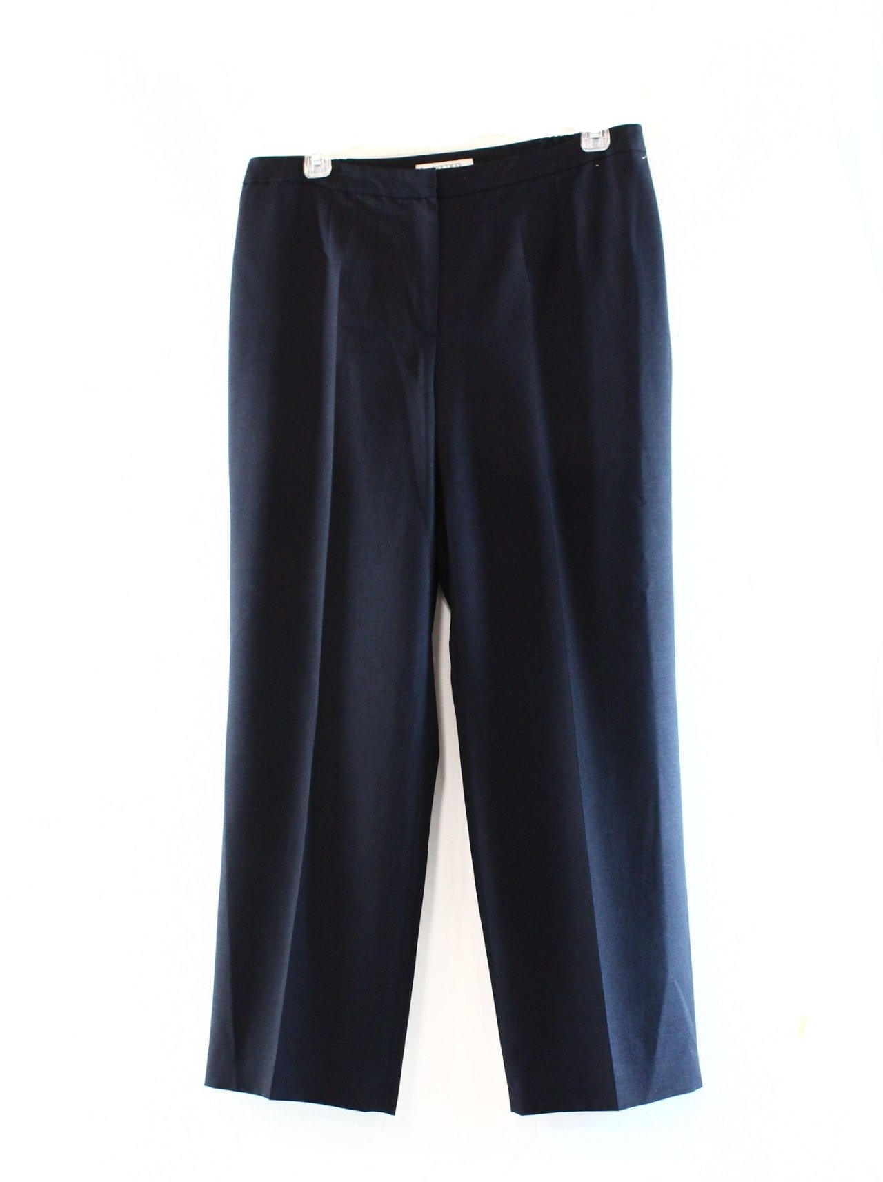 Wonderful  Hers Clothing Pants Blue Navy Women39s Size 2X29 Slim Leg Dress Pants