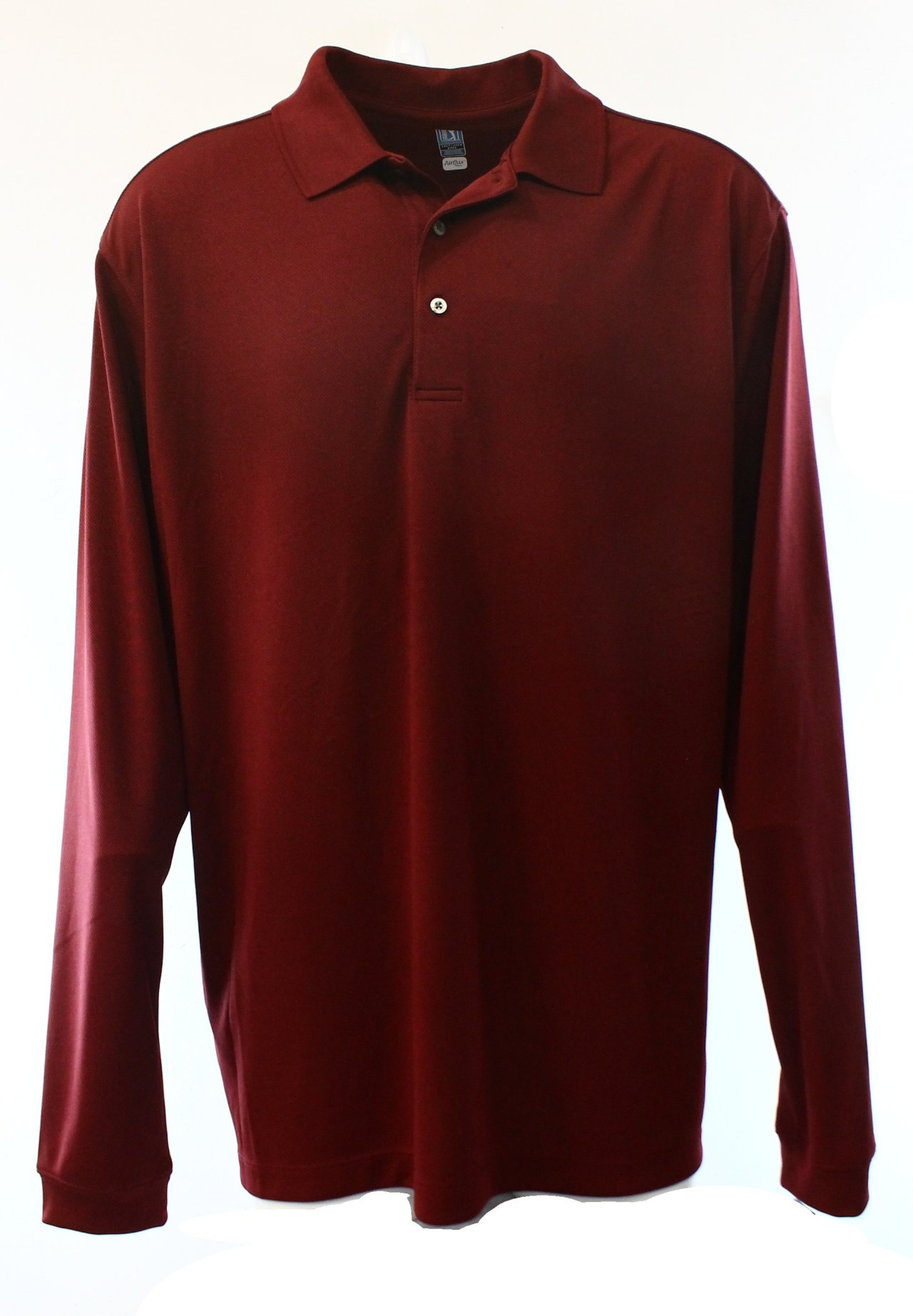 Pga Tour New Zinfandel Red Mens Us Size 2xlt Long Sleeve
