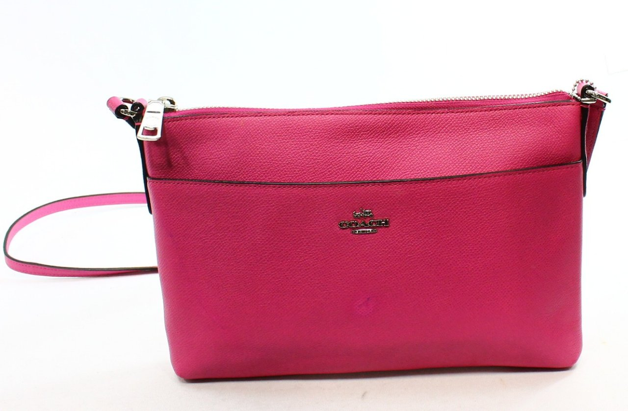 how to clean satin lining of coach purse