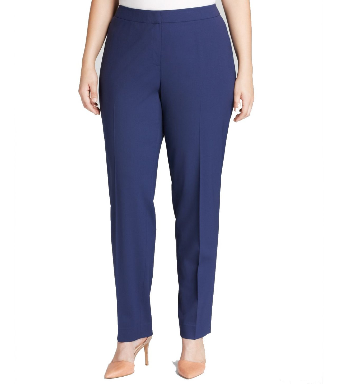 Women&39S Plus Size Navy Blue Dress Pants - Holiday Dresses