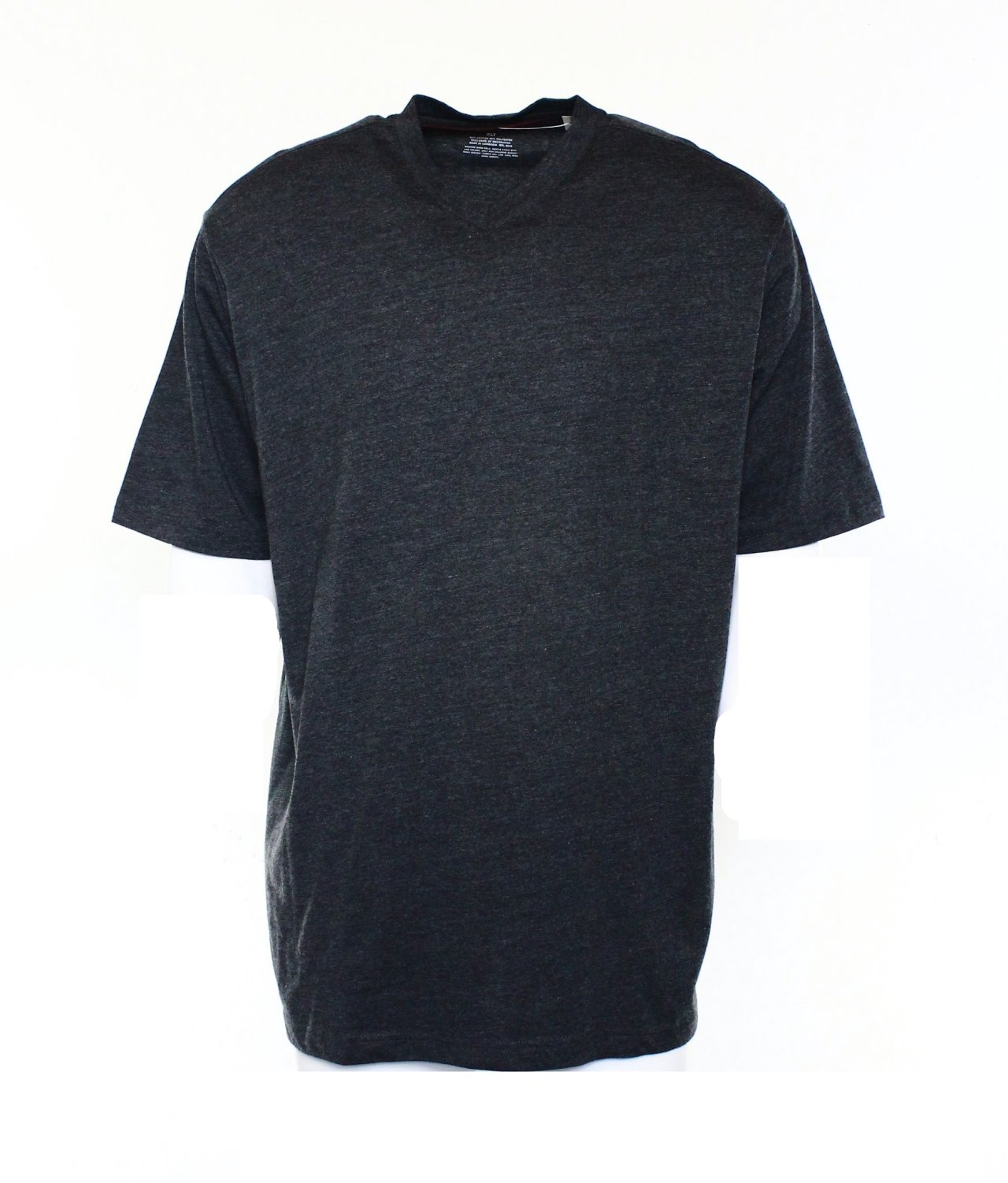 Alfani New Gray Short Sleeve Mens Big And Tall Xlt Basic