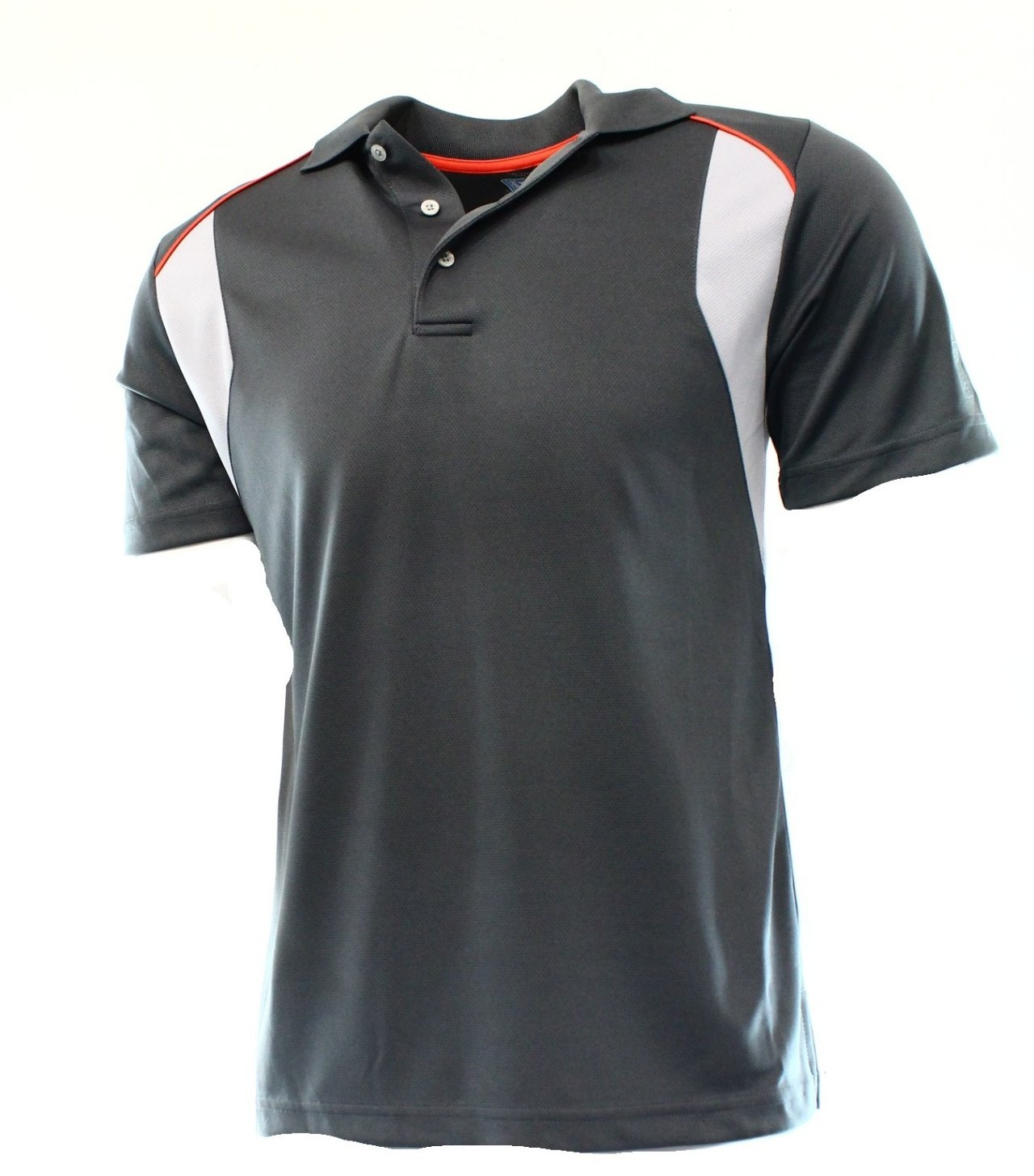 pga tour new dark gray airflux mens large l golf