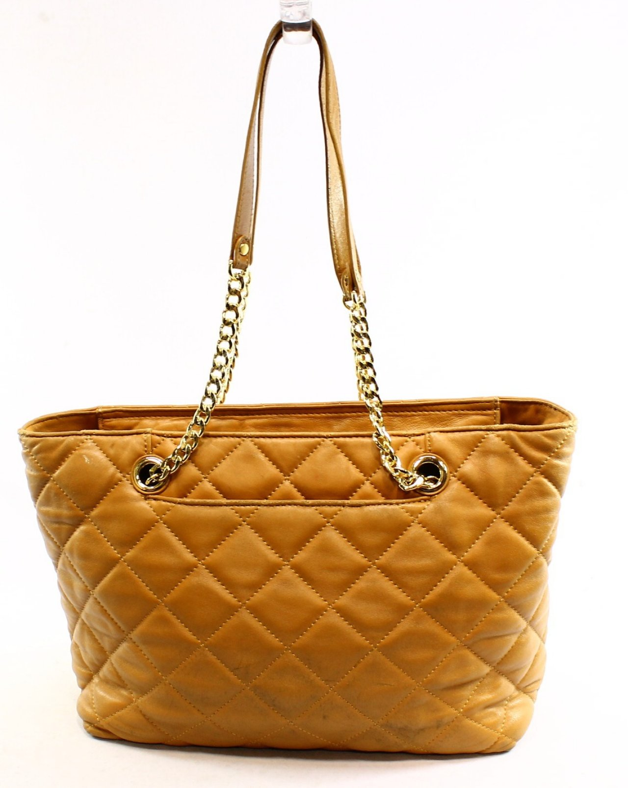 Michael Kors Beige Fulton Quilted Leather Women S Tote